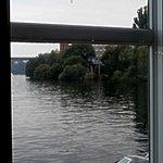 Lite bit av utsikt från Sjöpaviljongen