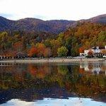 Fall colors in Lake Lure
