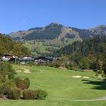 Grand Tirolia vom Golfplatz