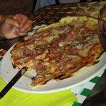 pizza de jamon york