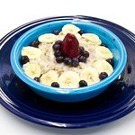 Our Filling Oatmeal with Fruit
