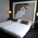 comfortabele moderne slaapkamer