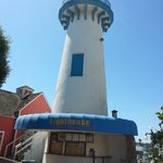 le minuscule phare du Fisherman's village