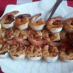 Grilled Shrimp & Toast