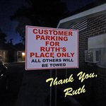 RUTH IS SAVING A PLACE FOR YOU!