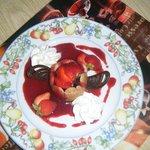 charlottine au fruits rouges