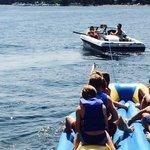 Noon Banana Boat ride