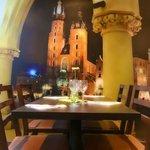 Wall photo of St Mary's Basilica Krakow