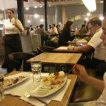 Les amies chiliennes a Crepes & Waffles (aéroport el Dorado)