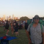 sunset at ACL