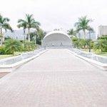 Gates to Hero's Park, New Kingston, Jamaica