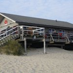 Lister Austernperle vom Strand gesehen