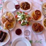 Mesa farta - comida tradicional albanesa
