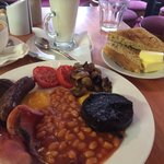 Beautifully cooked breakfast!