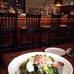 Crab and shrimp salad.... Very good