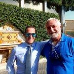 Daniele with my partner Robert