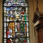 Stain Glass, Confessional, St. Louis Cathedral