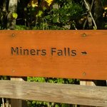 Miners Fall next to Miner's Castle