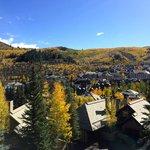 View of Beaver Creek Mountain Village Area