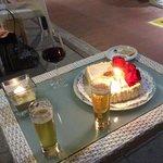 hhappy birthday celebration at Puccini