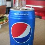 Pepsi made in Hawaii.