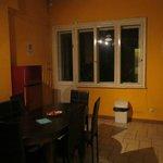 Kitchen/dining area in apt.