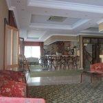 Первый этаж отеля