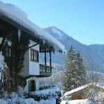 Villa Sonnwend im Winter