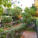 View of garden bar/restaurant from entrance