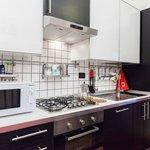 Almes Garden Apartment's Kitchen