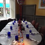 Birthday Girls table at Pizza Express Truro ������