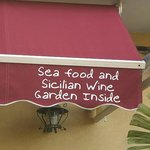 Beware of garden inside...appalling, discourteous service too!