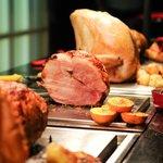 The Carvery has delicious Gammon, Turkey, Beef & Pork
