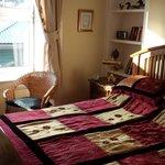 """double bed in room """"Arran"""""""