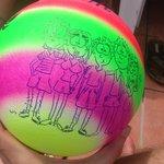 мячик в подарок гостинице
