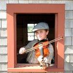Nason on the fiddle!