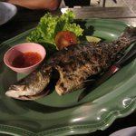 Fresh Grilled Fish with Thai Sweet Chilli