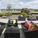 Outdoor Private Terrace the Veranda Lounge