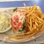 lobster roll plate