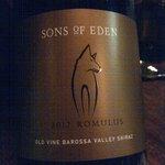Sons of Eden shiraz - delicious