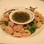 Sweet & Spicy Calamari