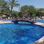 The main pool at the Viva Club