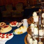 Sweet table Buffet evening