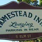 Homestead Inn Sign