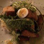 frisee au lardon salad