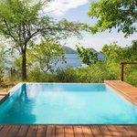Pool at Zabuco villa 2