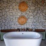 het bad