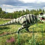 T.rex au parc Tropicaland