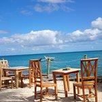 Petit Déjeuner avec vue imprenable sur l Océan