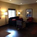 Newly remodeled lobby and sitting area